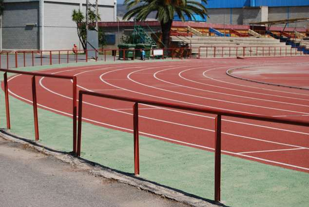 Pista de atletismo valor do m2